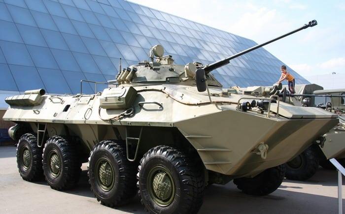 БТР-90 на выставке