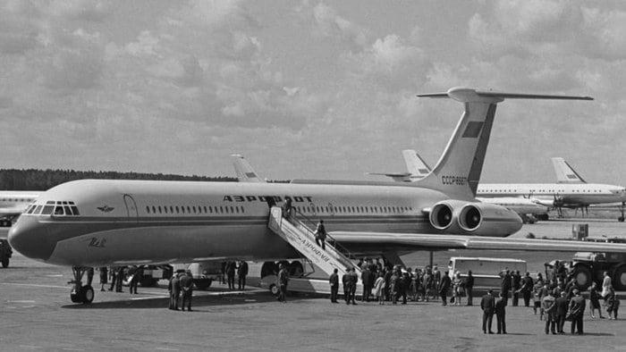 ИЛ-62 СССР фото
