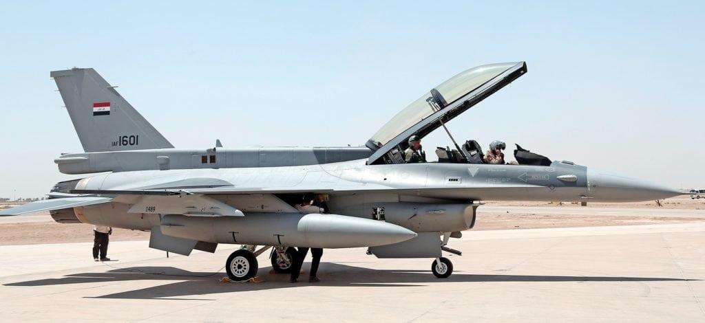 истребитель f16 в ираке