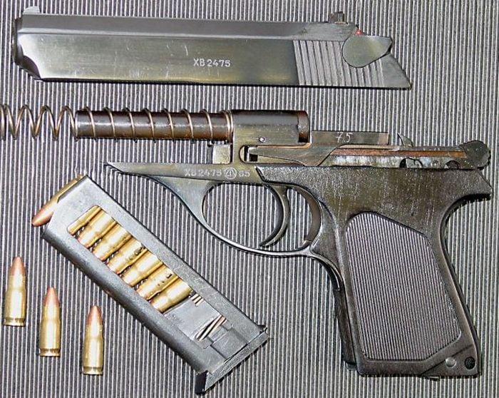 Пистолет ПСМ с магазином