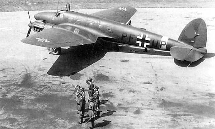 He-111G — гражданская версия бомбардировщика