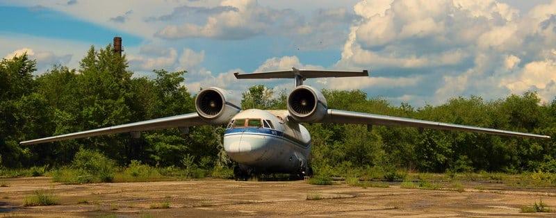 самолет ан-72 чебурашка