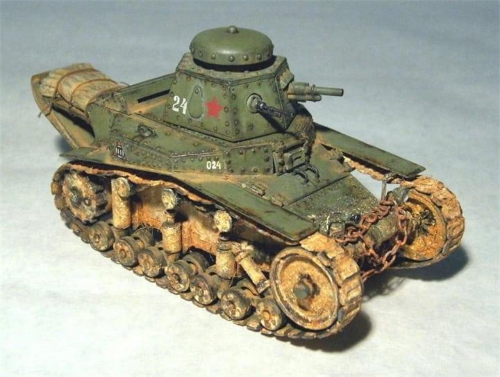 модель танка мс-1