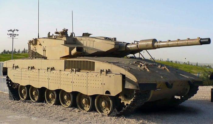 Израильский танк Меркава