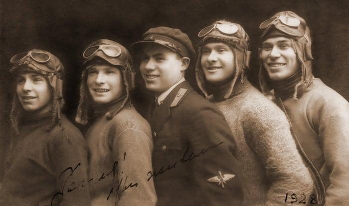 Лётчики 1928 год