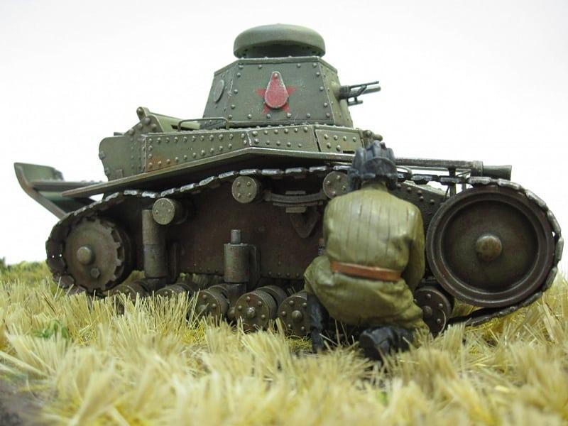 ремонт танка