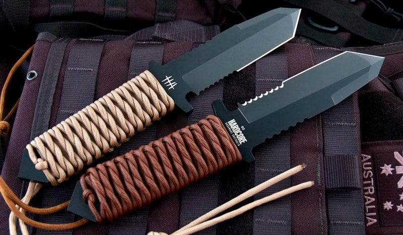 Как сделать скосы на ноже