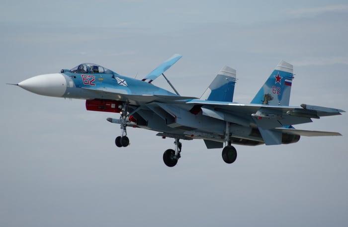 Самолет Су 33