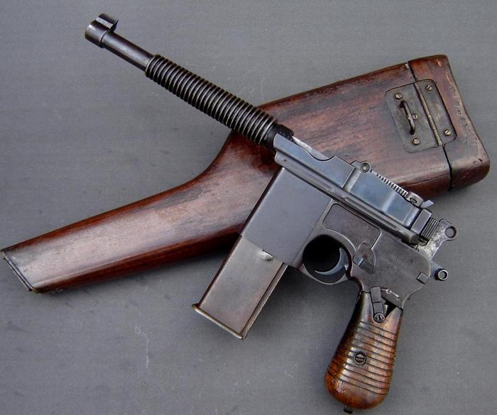Маузер к96 с прикладом