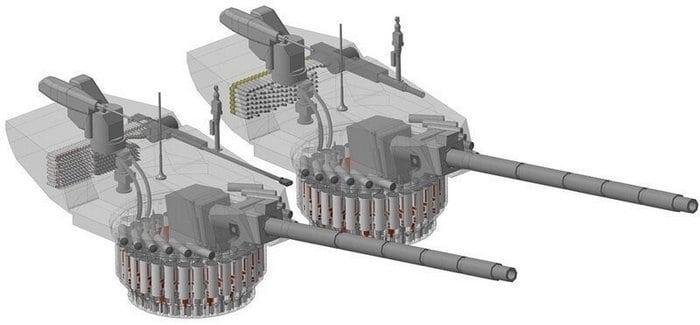 Автомат заряжания т-14