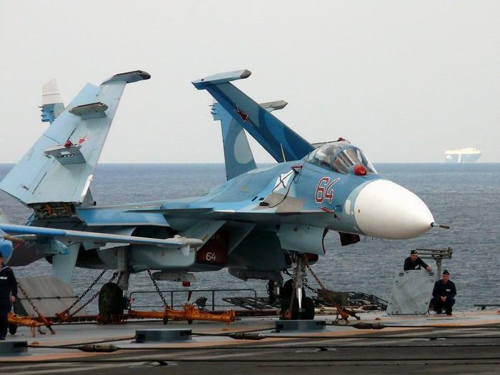 Су-33 крылья