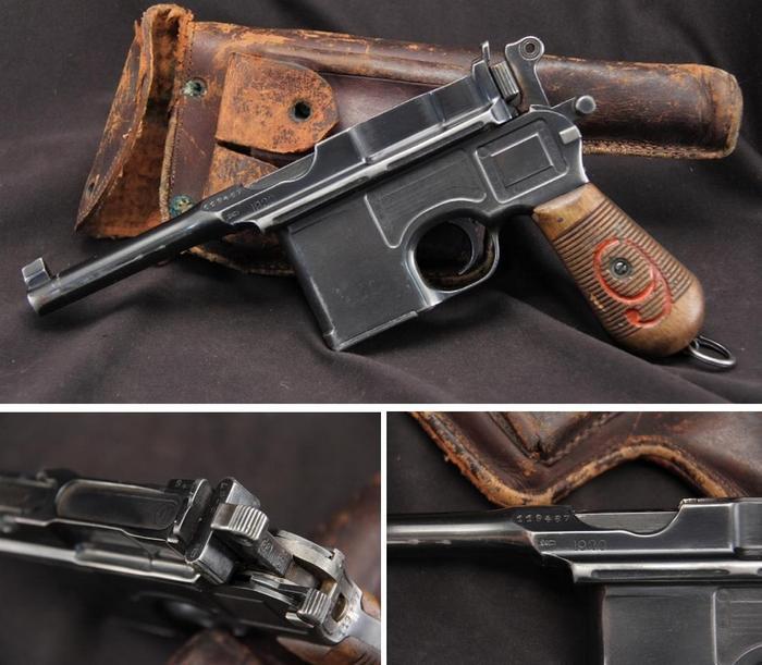 Пистолет Маузер к-96