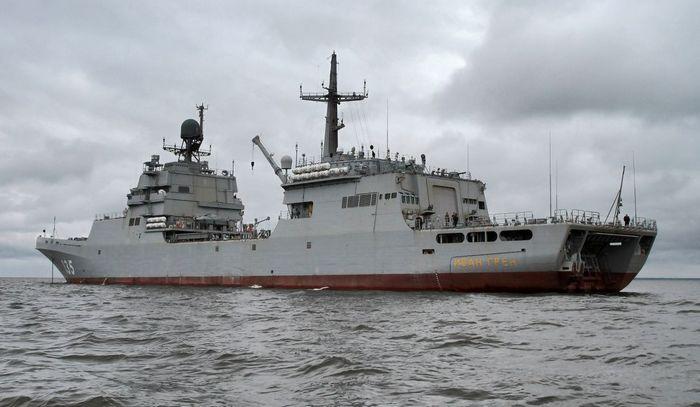 Иван Грен в море
