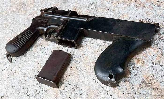 Пистолет-пулемет – «PASAM»