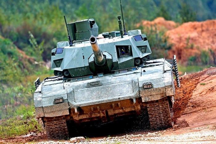 Т-14 на полигоне