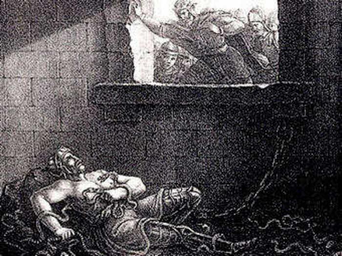 Смерть Рагнара Лодброка