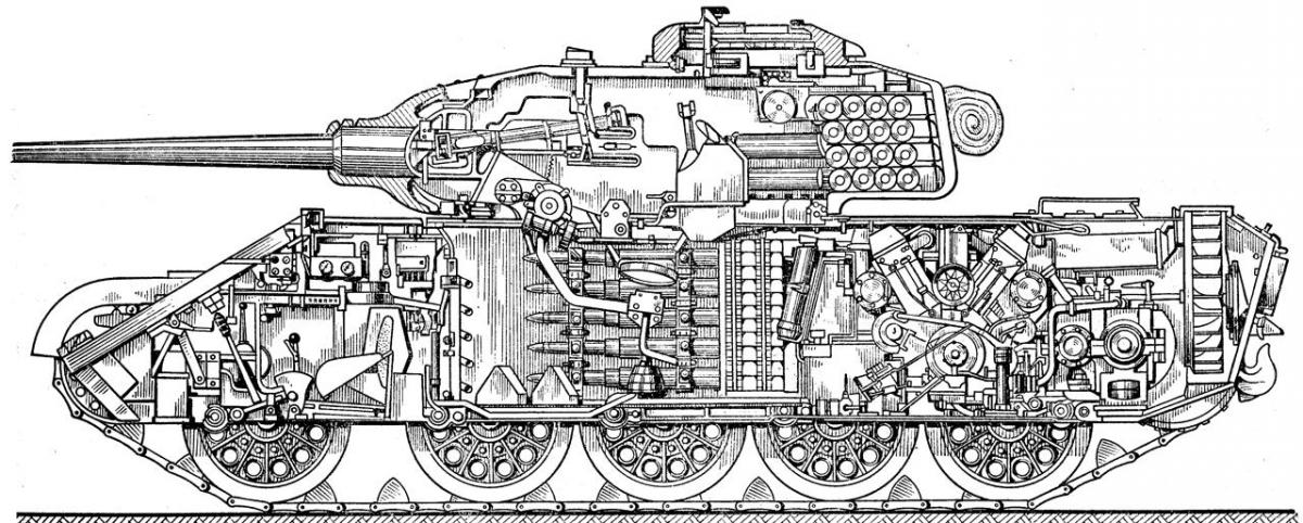 Т-44 устройство