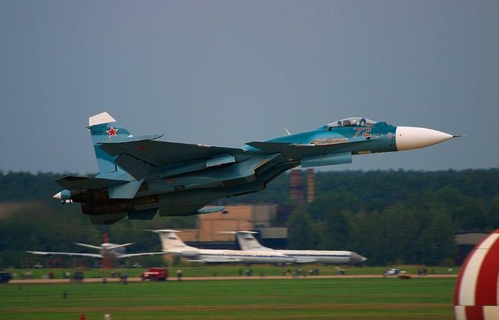 Russian Navy Sukhoi Su-33