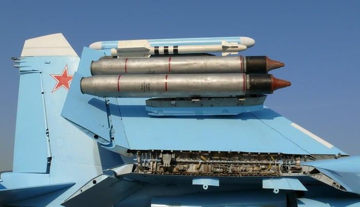 Су-33 вооружение