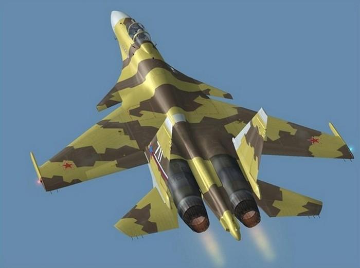 СУ-37 самолёт