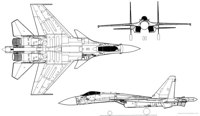СУ-37 чертежи