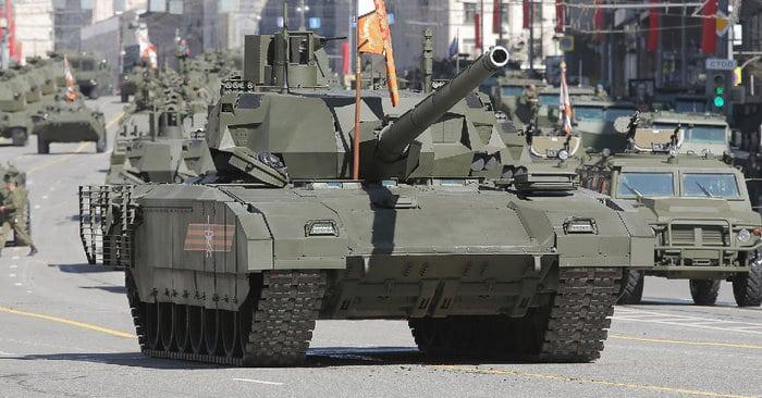 Т-14 на параде