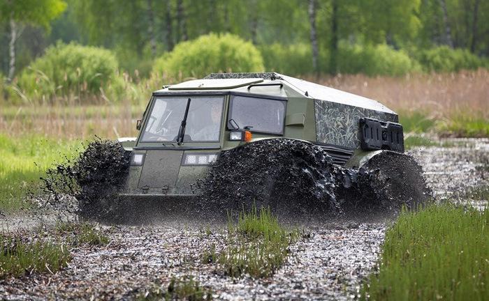Шерп в грязи