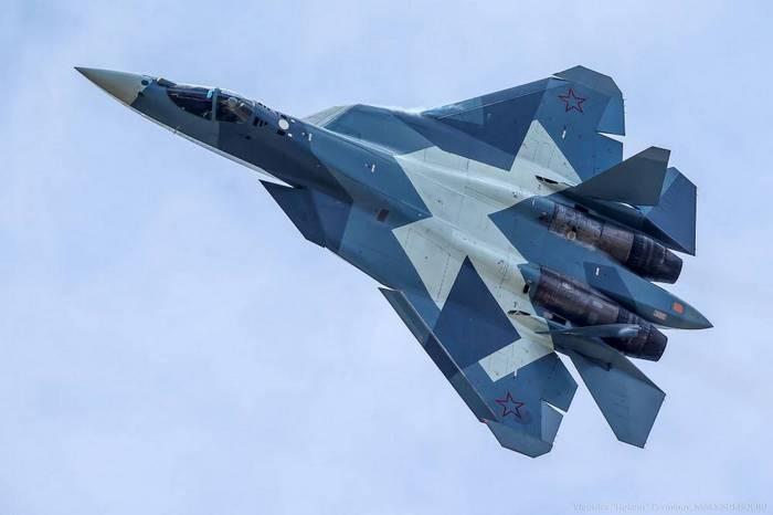 СУ-57 самолёт