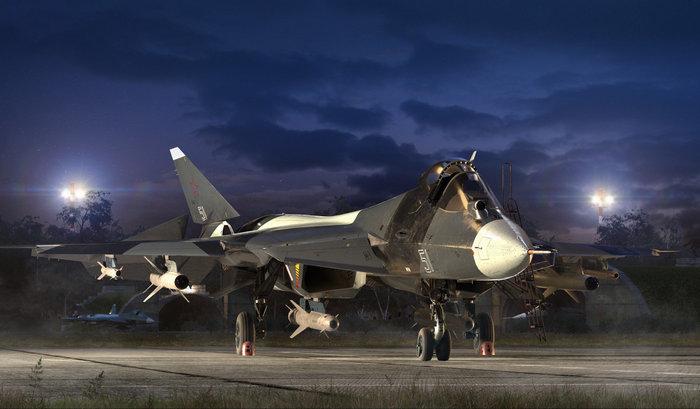 СУ-57 вооружение