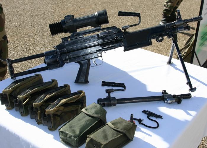 Пулемет МИНИМИ