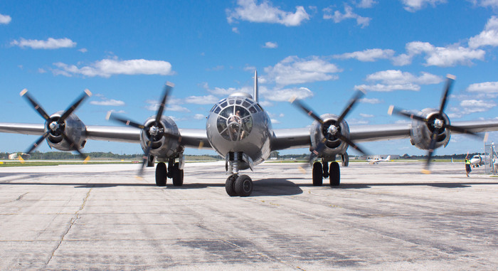 Б-29 на взлётке