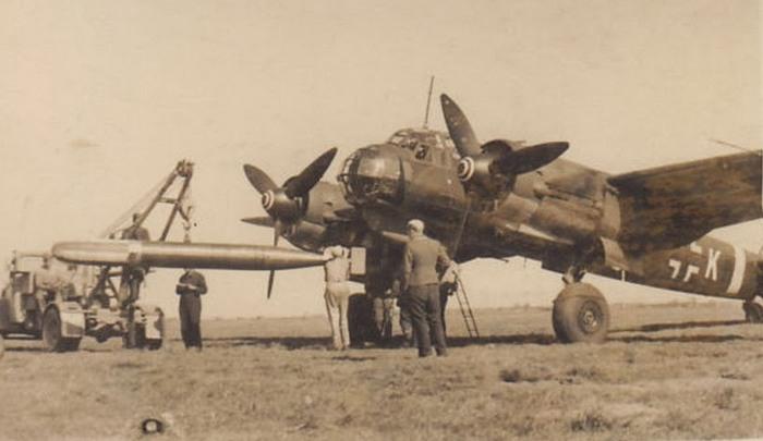 Ju 88 торпедоносец