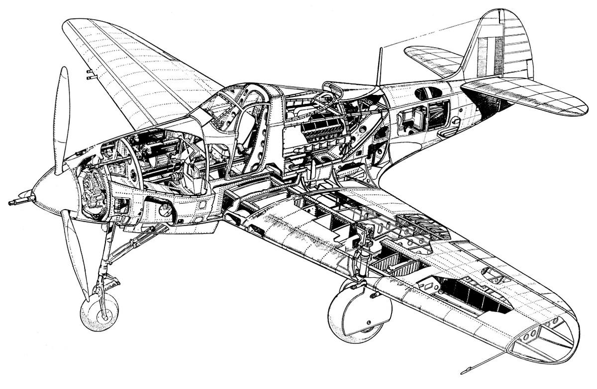 Bell P-39 конструкция