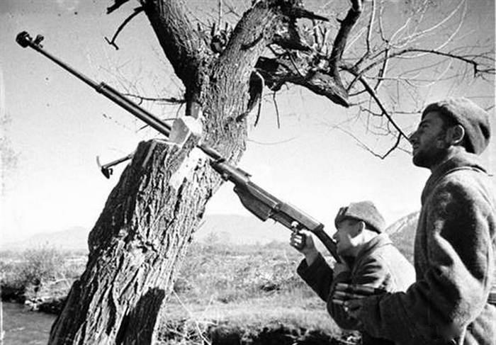 ПТРС военное фото