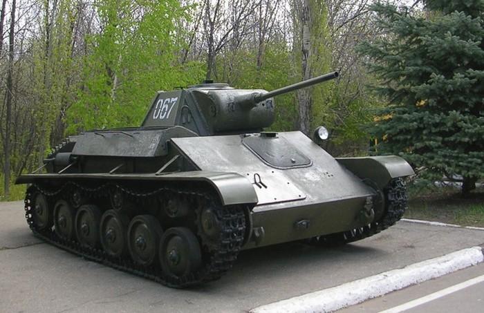 Т-70 Советский лёгкий танк