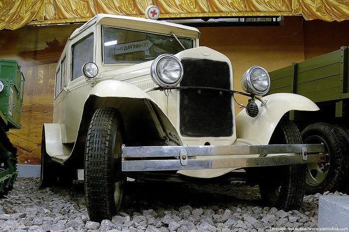 Санитарка ГАЗ-55