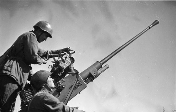 Зенитка 37 мм 61к