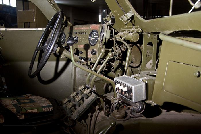 БТР-152 кабина