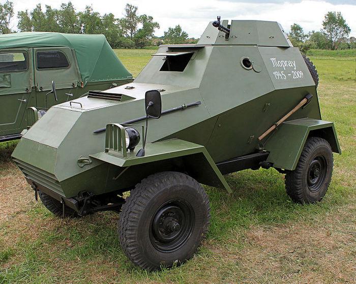БА-64 реконструкция
