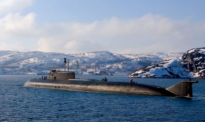 Подводная лодка 949а проекта Антей