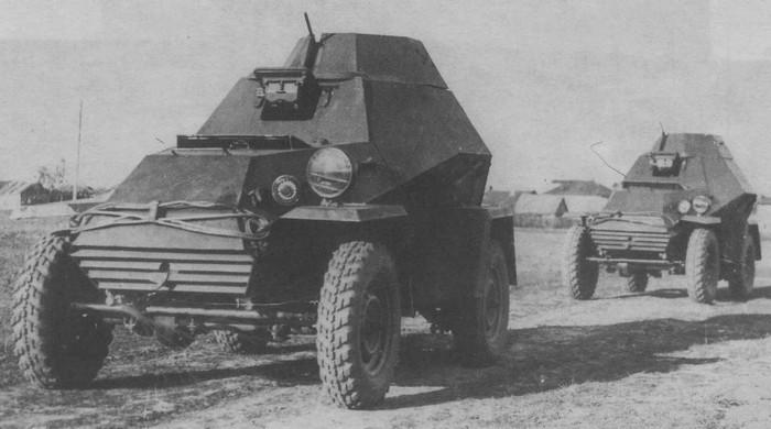 БА-64 броневик