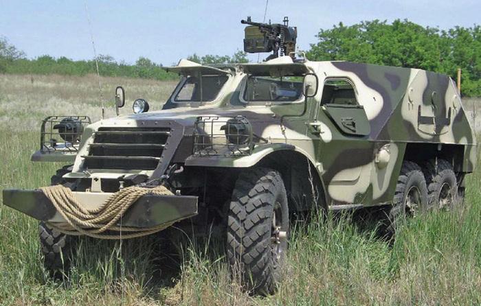 БТР-152 камуфляж