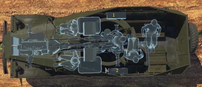 БТР-152 схема
