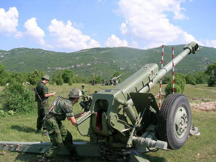 Д-30 122 мм стрельба