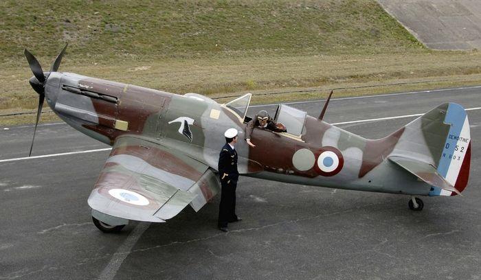 Самолёт Dewoitine D.520