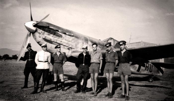 Французский истребитель Dewoitine d.520