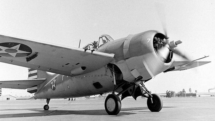 Самолет f4f Wildcat