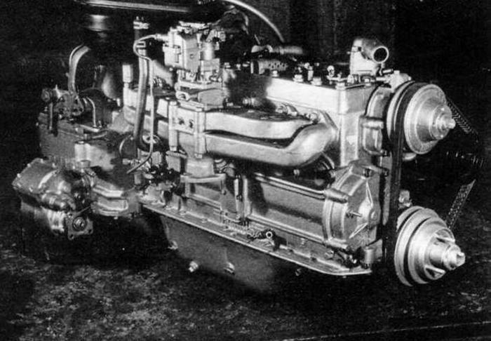 БТР 152 двигатель