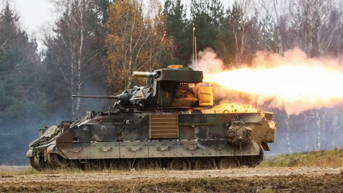 M2 «Брэдли» в бою
