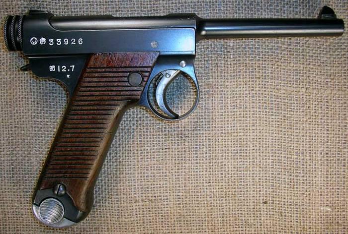 Намбу японский пистолет